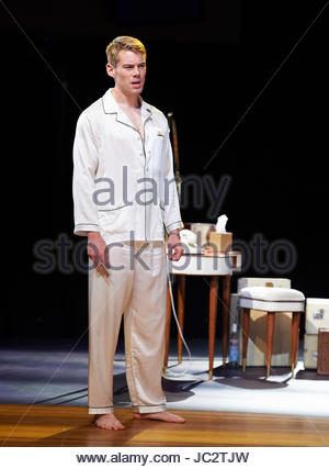Sweet Bird Of Youth by Tennessee Williams, directed by Jonathan Kent. With Brian J smith as Chance Wayne. Opens - Stock Photo
