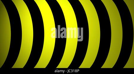black and yellow sheets as background - Stock Photo