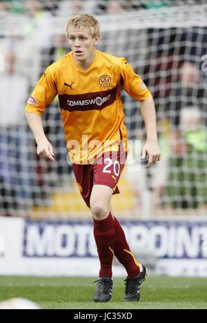 JONATHAN PAGE MOTHERWELL FC MOTHERWELL FC FIR PARK MOTHERWELL SCOTLAND 29 August 2010 - Stock Photo
