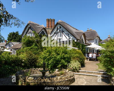 Vernon Cottage, Old village, Shanklin, Isle of Wight, UK - Stock Photo