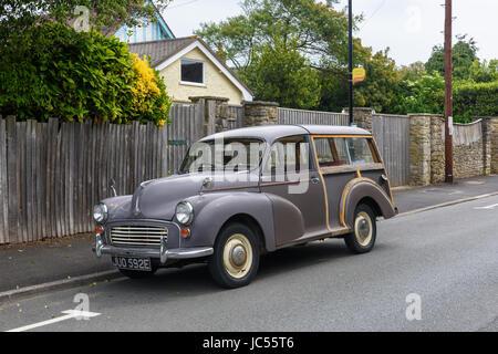 Morris Minor 1000 estate - Stock Photo