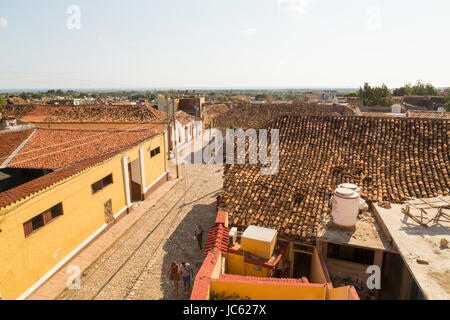 Cityscape of Trinidad, Cuba - Stock Photo