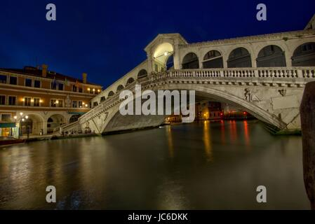 rialto in venice - Stock Photo