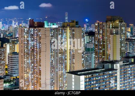Hong Kong compact life - Stock Photo