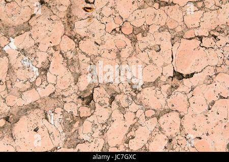 formatfüllende Ansicht rosa Marmor-Fliese - Stock Photo