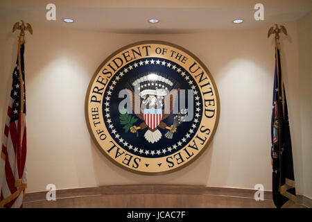 seal of the president of the united states USA - Stock Photo