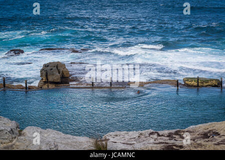 Maroubra Mahon Rock Pool Sydney New South Wales Australia Stock Photo 78507411 Alamy