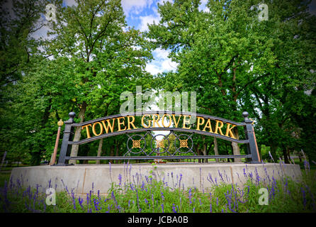 Tower Grove Park in St. Louis, Missouri Stock Photo: 145308140 - Alamy