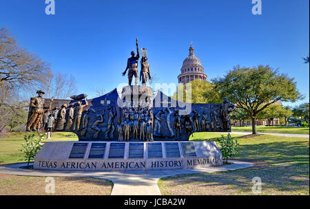 Texas State Capitol in Austin, TX - Stock Photo