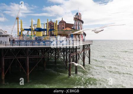Brighton Pier, United Kingdom - Stock Photo