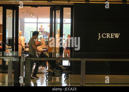 J. Crew Store at Time Warner Center, Columbus Circle, NYC, USA - Stock Photo