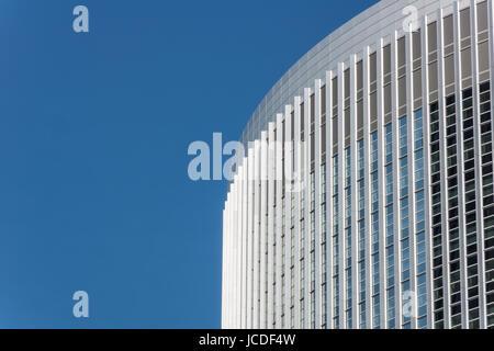 Wolkenkratzer im Frankfurter Bankenviertel - Stock Photo