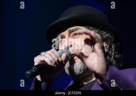 London, UK. 14th June, 2017. Joaquin Sabina performs at Royal Albert Hall as part of his tour Lo Niego Todo in London - Stock Photo