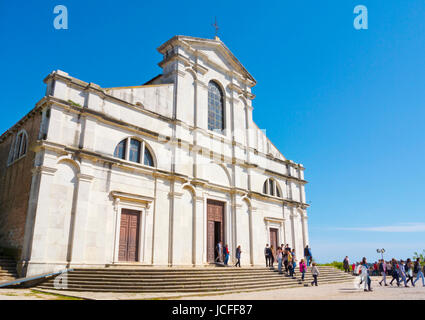 Sveta Eufemija, Saint Euphemia, Rovinj, Istria, Croatia - Stock Photo