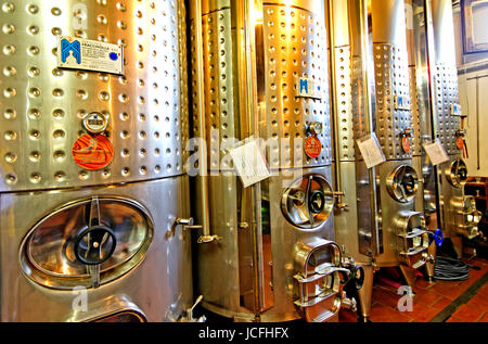 Wine production in Italy - Stock Photo