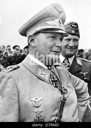 Hermann Goering (1893-1946).  Marshal and German politician. - Stock Photo