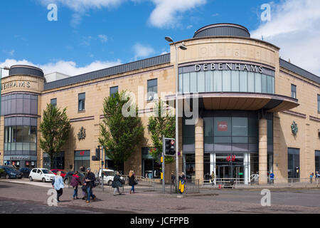 Overgate Shopping Mall in Dundee, Scotland, United Kingdom - Stock Photo