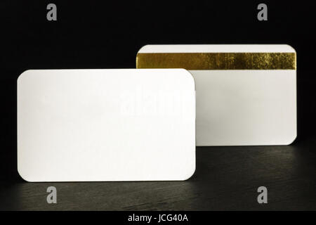 Blank business cards with rounded corners stock photo 68478633 alamy a photo of two blank white business cards with rounded corners one of them with reheart Gallery