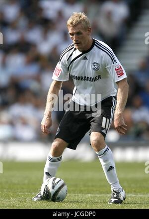 GARY TEALE DERBY COUNTY FC DERBY V PETERBOROUGH PRIDE PARK, DERBY, ENGLAND 08 August 2009 DIY98805     WARNING! - Stock Photo