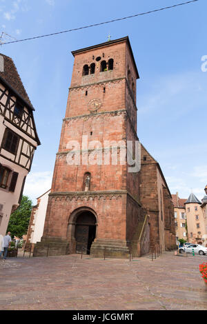 Church of Notre-Dame in Saverne - Stock Photo
