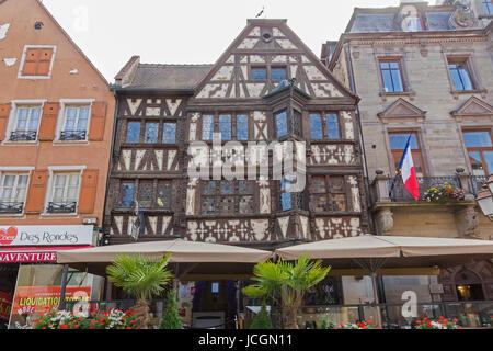 Maison Katz house from 17th Century (Taverne Katz), Saverne, Alsace, France. - Stock Photo