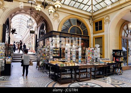 Passage Vivienne, Paris, France - Stock Photo
