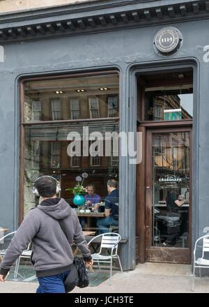Crabshakk, Argyle Street, Finnieston, Glasgow, Scotland, UK - Stock Photo