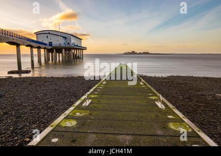 RNLI Barrow Lifeboat Station - Stock Photo