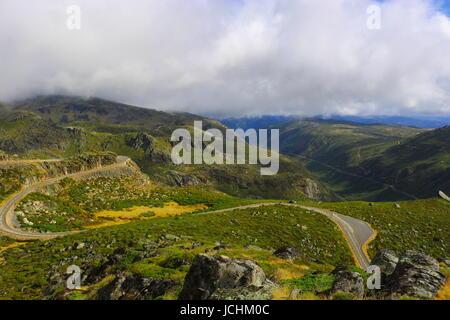 Landscape in Serra da Estrela, Portugal - Stock Photo