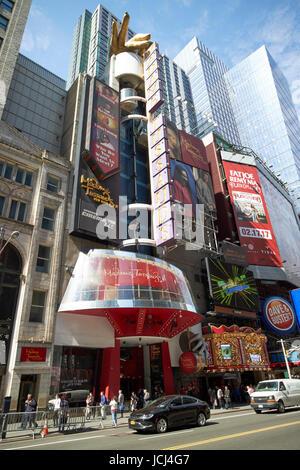 Madame Tussauds New York City USA - Stock Photo
