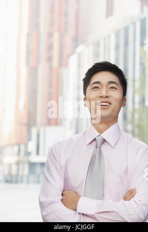 smiles city life - Stock Photo