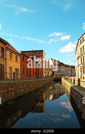 Hansestadt Wismar Deutschland / Hanseatic City Wismar Germany - Stock Photo