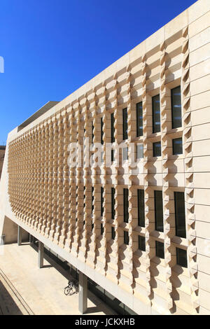 New Parliament Building designed by Renzo Piano, Valletta, Malta completed 2015 - Stock Photo