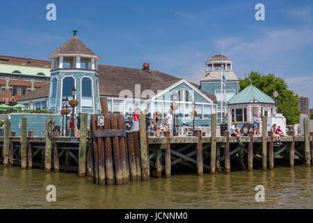 Alexandria virginia usa chart house restaurant old town stock
