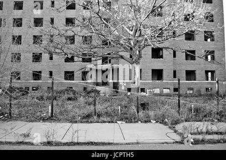 Brewster-Douglass Housing Projects - Stock Photo
