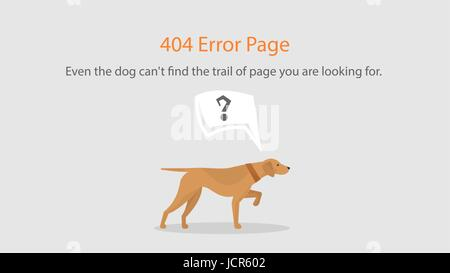 Vector 404 error page template for website. Open space with ...