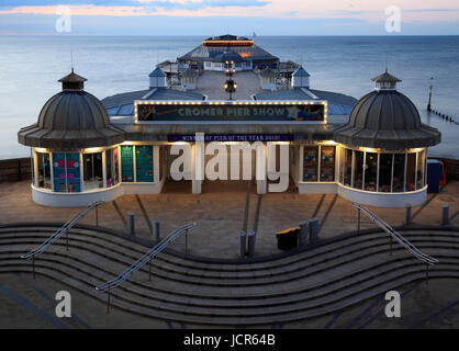The traditional pier at Cromer, North Norfolk, England, Europe - Stock Photo