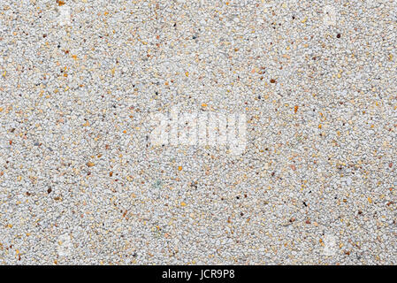 exposed aggregate finish or washed concrete texture background - Stock Photo