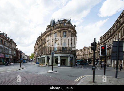 Derby, England, 14th, June, 2001.  General views along Victoria Street at its junction with The Strand and Wardwick - Stock Photo