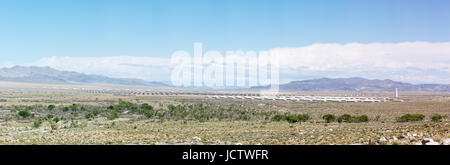 The Hawthorne Army Depot in Nevada. - Stock Photo