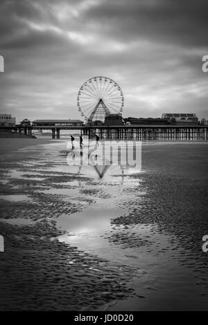 Blackpool's Big Wheel - Stock Photo