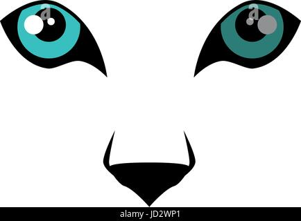 Wild jaguar eyes - Stock Photo