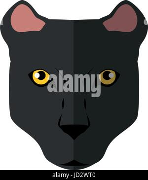 Wild animal jaguar - Stock Photo