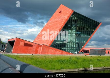 Museum of the Second World War in Gdansk, Poland, central/eastern Europe. June 2017. - Stock Photo