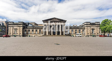 The High School of Dundee in Bell Street Dundee Tayside Scotland UK - Stock Photo