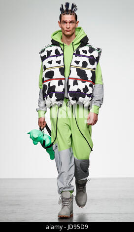 Bobby Abley London Collection Mens June 2017 - Stock Photo