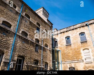 Oxford Castle, Oxford, Oxfordshire, England - Stock Photo