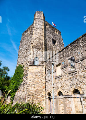 St George's Tower, Oxford Castle, Oxford, Oxfordshire, England, UK, GB. - Stock Photo
