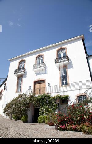 Grahams Cellars in Porto - Portugal - Stock Photo