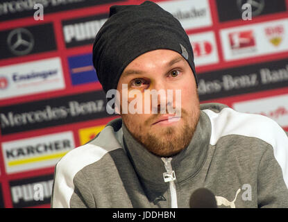 Stuttgart, Germany. 03rd Mar, 2017. FILE - A teary Kevin Grosskreutz offers his family and fans an apology for his - Stock Photo